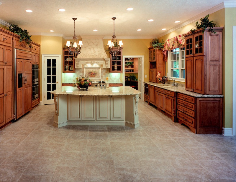 Maple Toffee Cg With Kitchen Painted Island